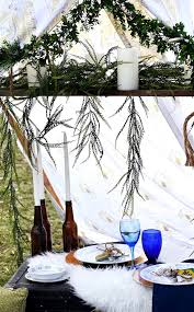 Dinner Special Ideas Dining Table From An Intimate Boho Dinner For Two On Kara U0027s Party