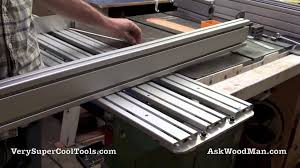 Steel Sled Deck Plans by Diy Table Saw Sliding Crosscut Carrier Youtube