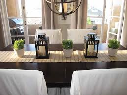 dinning candle centerpieces dining room table ideas dining room