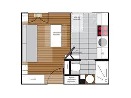 plan cuisine 11m2 1 petit studio digne d 1 grand appartement