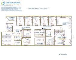 Office Plans by 3 D Dental Office Design Floor Plan General Dentist 3381 00 Sq Ft