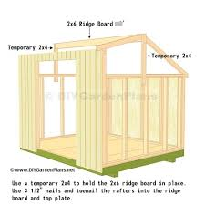 How To Build A 10x12 Shed Plans by Diy Saltbox Shed Guide