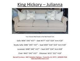 King Hickory Sofa Price 34 Best Average Size Sofas 84