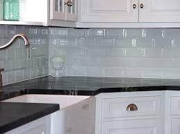 Subway Kitchen Backsplash Glass Subway Tile Backsplash Kitchen Home Design Ideas