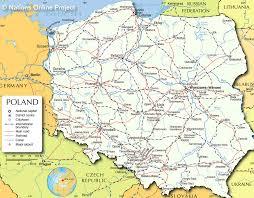 Map Poland Poland Map