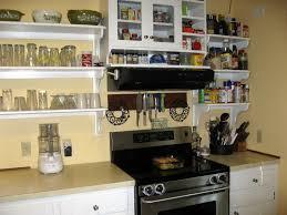 shelves instead of kitchen cabinets kitchen cabinet ideas