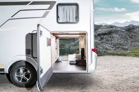 𝞝 hymer exsis t 𝞝 exterior view and stowage compartments
