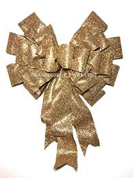 christmas gift bow graduation gift bow gold ribbon large gift bow gold