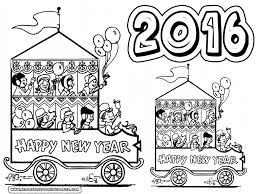 happy 2016 coloring pages printable realistic coloring