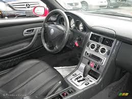 charcoal interior 2002 mercedes benz slk 230 kompressor roadster