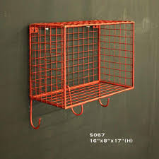 Cubby Wall Shelf by Iron Wire Single Cubby Wall Shelf Shivam Imports