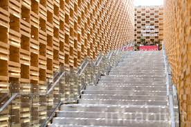 amazing home design 2015 expo this building made from hundreds of apple crates has a surprise