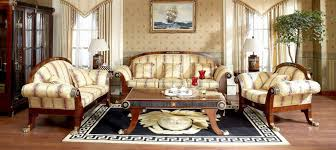 Elegant Rugs For Living Room Living Room With Area Rug And Elegant Furniture Choosing Tips