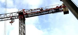 tower crane hire project in belfast mantis cranes