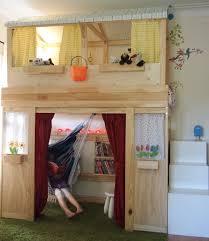 ikea bunk bed hacks elevated loft bed hacks ugrades apartment therapy