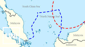 South China Sea Map by Indonesia Renames Part Of South China Sea Youtube