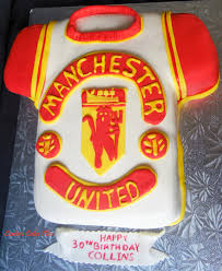 manchester united t shirt birthday cake custom cakes pinterest