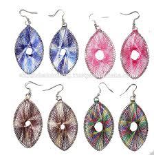 buy earrings online designer colorful fashion silk thread earrings online buy