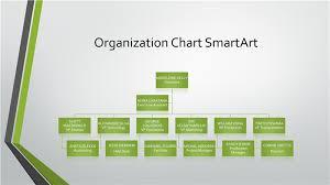 template organizational chart organizational chart gray green widescreen office templates