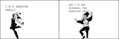 Dancing Troll Meme - troll cartoons funny meme cartoons