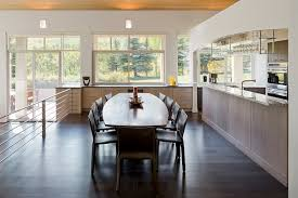 kitchen and dining room design modern kitchen dining room design modern kitchen center