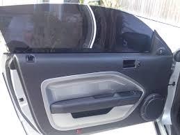 mustang door panel alternative for sagging peeling door panels the saleen forums