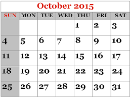 free download 2015 october calendar printable pictures images