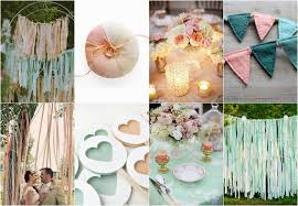 Mint Green Wedding Mint Green Decorations For Weddings Peach And Green Wedding Mint