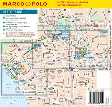 Map Of La County Marco Polo Reiseführer Los Angeles Reisen Mit Insider Tipps