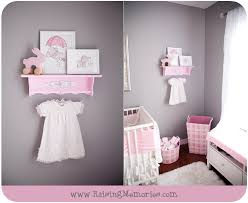 pink nursery ideas pink and gray baby girl nursery