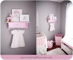 Gray Nursery Decor Pink And Gray Baby Nursery