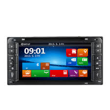 6 95 inch hd touch screen car dvd player in dash 2 din car pc