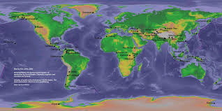Ural Mountains On World Map by 100 Mountains Of The World Ranked By Primary Factor