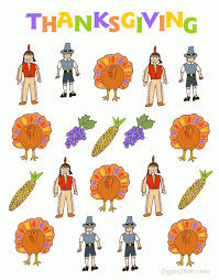 printable thanksgiving stickers or magnets ziggity zoom