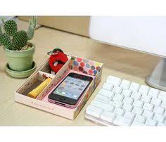 Desk Tray Organizer by Diy Paper Stationery Makeup Comestics Pen Desk Organizer Storage