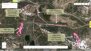 Interactive Map Global Forest Watch by Forest Watch Of Donner Summit From Space Onthesummit