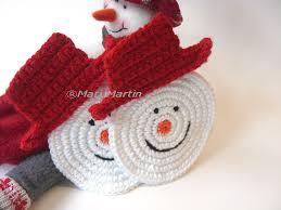 crocheted christmas crocheted christmas ideas thinking of christmas crochet coasters