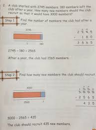 Mixture Word Problems Worksheet A Grade 3 Word Problem On Subtraction Singapore Math Grade