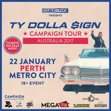 ty dolla ign perth campaign tour nzrelo