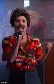 magnum pi year kristen bell is magnum pi in jimmy kimmel s daily