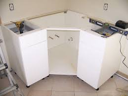 ikea kitchen corner cabinet ikea corner cabinet modification for sink remodle ideas