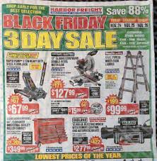 black friday tools harbor freight tools black friday ad 2017