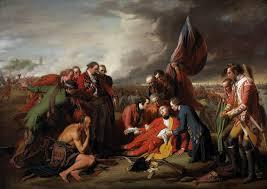 benjamin west 1738 u20131820 the death of general wolfe 1770