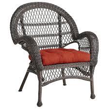 Waterproof Outdoor Chair Cushions Santa Barbara Mocha Armchair Pier 1 Imports