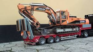 heavy duty volvo trucks for sale rc volvo truck transports excavator youtube