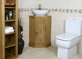 corner bathroom vanity table simple oak corner bathroom vanity set with white toilet for