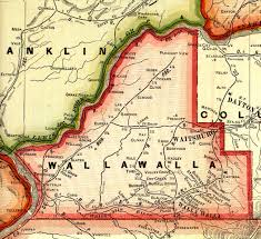 Picture Of Map Of Washington by Walla Walla County Washington Maps And Gazetteers