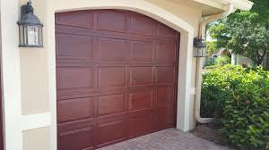 Faux Paint Garage Door - giving your garage doors a faux finish ronspainting