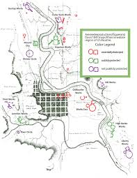 Chillicothe Ohio Map by Ross County Earthworks Arc Of Appalachia