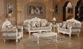 Silver Table Ls Living Room 691 Serena Traditional Living Room Set In Pearl White By Meridian